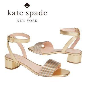 Kate Spade Lorri Ankle Strap Women Sandals NEW